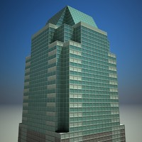 3d model morgan stanley building