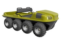 8X8 Amphibious Vehicle