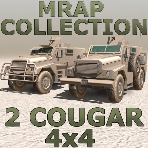 MRAP Cougar 4x4 Collection