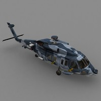 3d model blackhawk navy