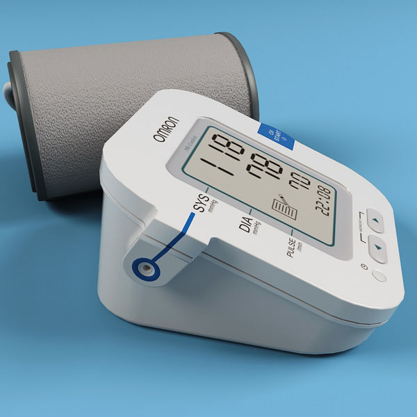 3ds max blood pressure monitor - Blood Pressure Monitor... by 3d_molier