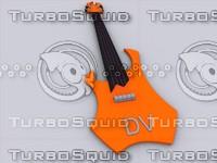 3d model guitarist
