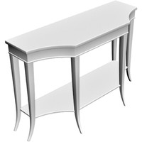 sofa table 3d obj