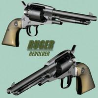 ruger revolver 3d 3ds