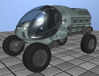 3d model sci vehicle