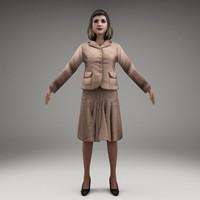 3d axyz characters human model