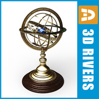 Armillary sphere 01 by 3DRivers