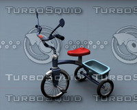 baby bicycle 3d model