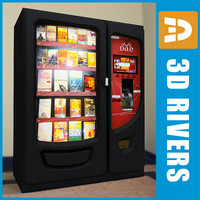Book vending machine by 3DRivers