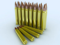 3ds max bullets rounded