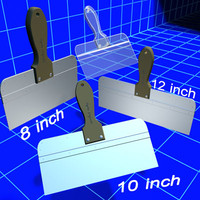 drywall mud knife set 3d max