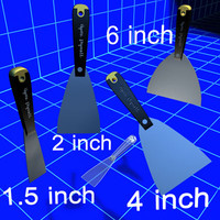 drywall mud knives 01 3d model