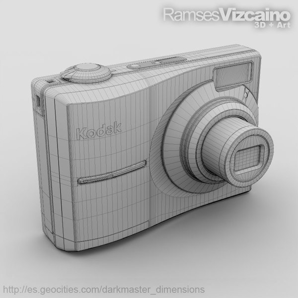 camera kodak c913 cam 3d model - Camera_Kodak_C913... by ramsesvizcaino