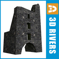 Ruined tower by 3DRivers