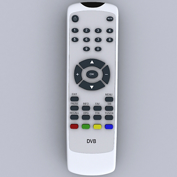 Digital receiver 3d model