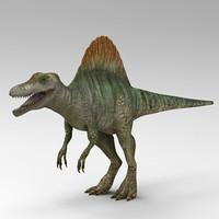 spinosaurus dinosaur 3ds