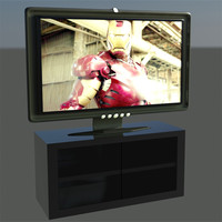 max flat tv stand