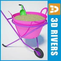 3d wheelbarrow feeding
