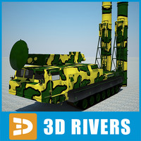 C300B-Gladiator rocket launcher by 3DRivers
