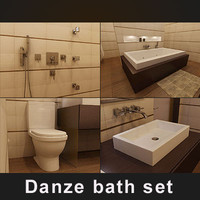 free max model hi-poly danze bath