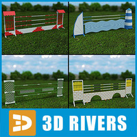Showjumping fences 01 by 3DRivers
