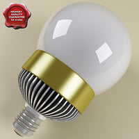 fluorescent lamp v4 3d model