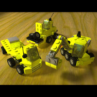Mini Construction LEGO pack