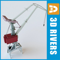 Crawler crane 02 by 3DRivers