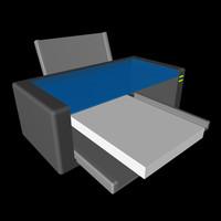 3ds inkjet printer ink