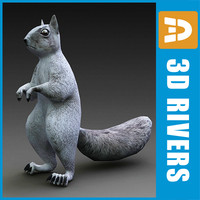 Squirrel by 3DRivers