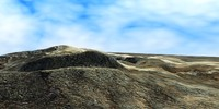 mountains rocky 3d max