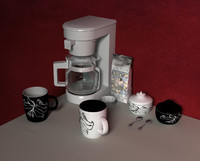 coffee set. collection