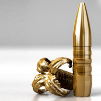 rifle bullet 3d model