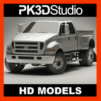 generic f-650 pickup 2009 3ds