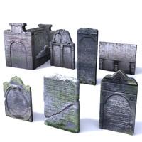 Gravestone Pack 4