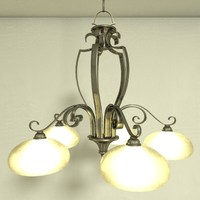 chandelier nook light fixtures 3ds