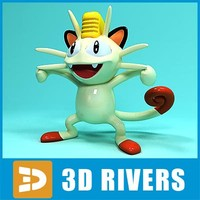 Meowth by 3DRivers