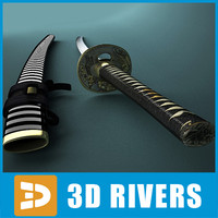 Samurai sword by 3DRivers