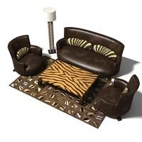 furniture group 3d model