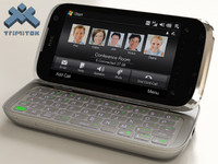 3d htc touch pro2 phone model