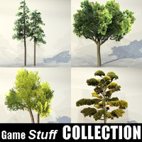 trees pc ps3 3d model