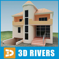 Small town house 04 by 3DRivers