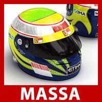 Felipe Massa F1 Helmet