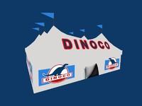 dinoco tent 3d blend