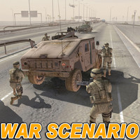 WAR  Scenario 2 (Middle East) MAX Format