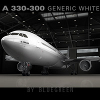 Airbus A330-300 Generic White S