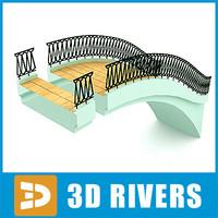 arch bridge 3d max