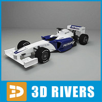 Race Car F1 by 3DRivers