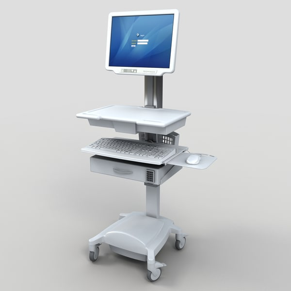medical hospital bed 3d model - Medical Collection 1... by monkeyodoom
