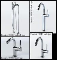 3ds max designer fantini faucets tap